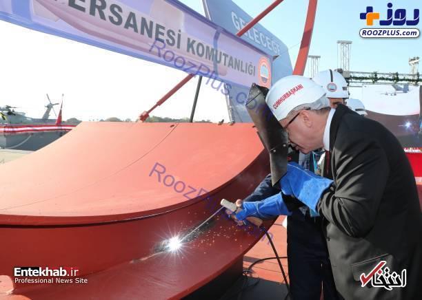 جوشکاری زیردریایی توسط رئیس جمهور